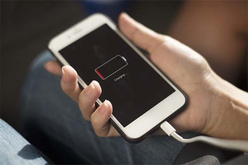 Charging a smartphone Charge rates explained