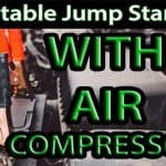 Best Portable Jump Starter and Air Compressor