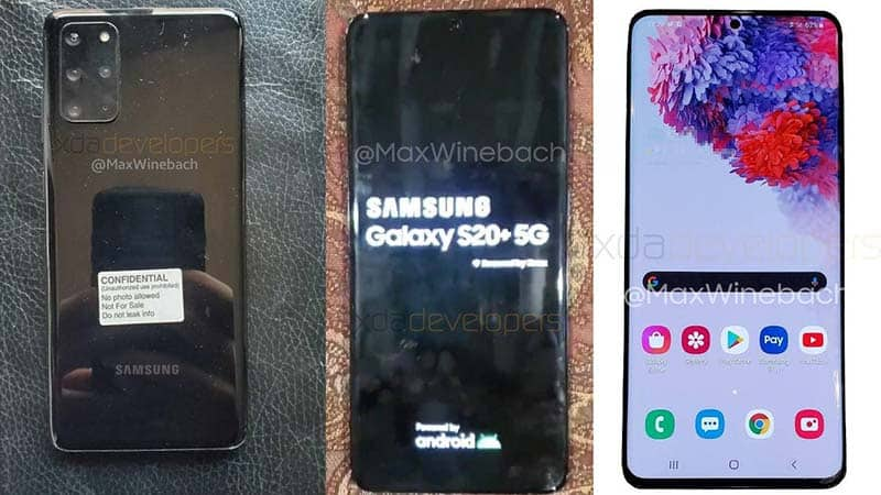 Samsung Galaxy S11 / S20 Official Price