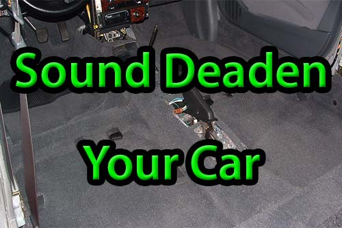 How to Reduce Noise in Car Interior