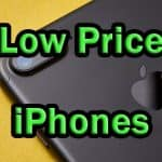 Low Priced iPhones For Sale