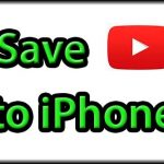 Save a YouTube video to iPhone