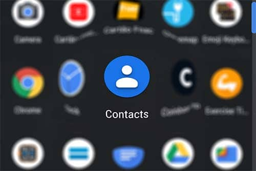 Android Contacts Editor