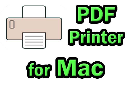 Best PDF printer for Mac