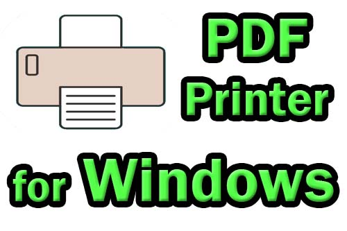 Best PDF printer for Windows