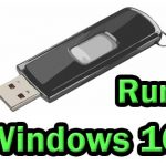 Can I run Windows 10 from a USB drive