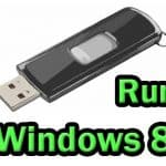 How to install and run Windows 8 from USB drive