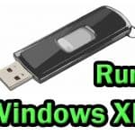How to run Windows XP from USB flash drive