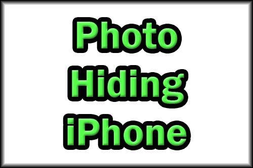 Picture hiding apps for iPhone