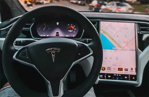 tesla model s android auto