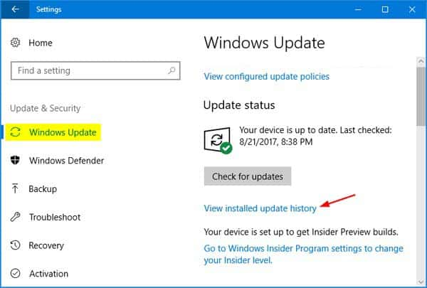 How to manually download Windows 10 updates