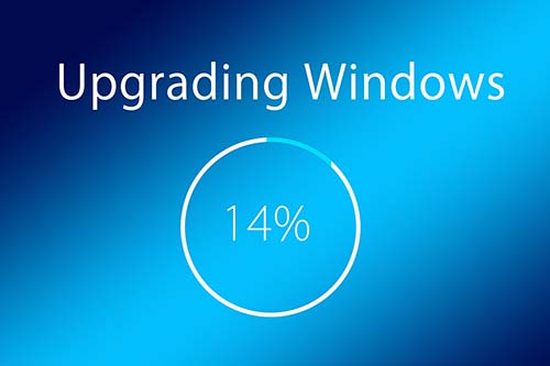 What should I do before upgrading to Windows 10