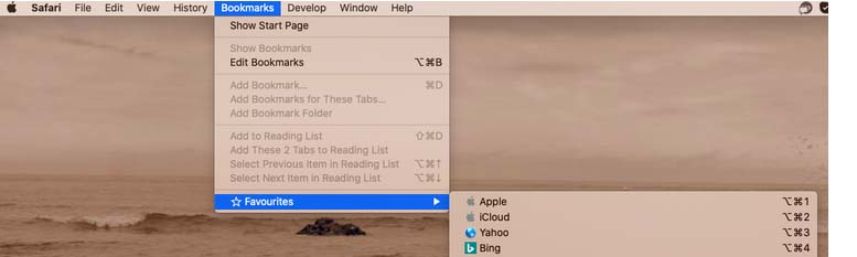 How to add Desktop to Favorites on a MacBook