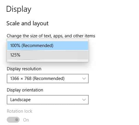 How to change font size in bookmarks toolbar Chrome