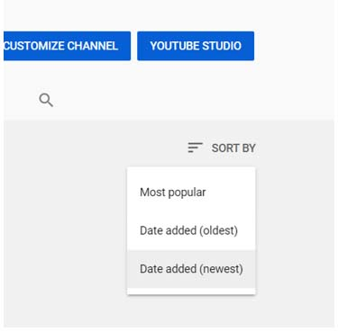 Where are my uploaded videos on YouTube