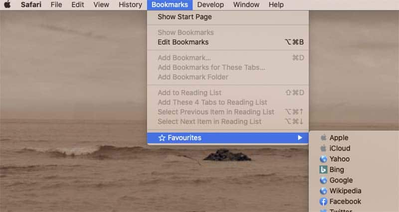 How to add a folder to Favorites on a MacBook