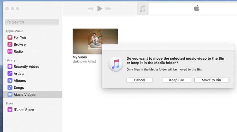 How to delete movies from a MacBook