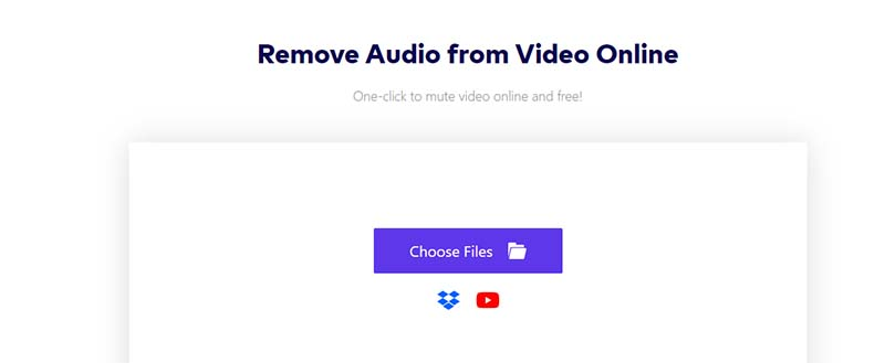 How to remove sound from YouTube video