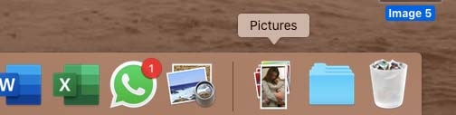 Where is the pictures folder on a MacBook