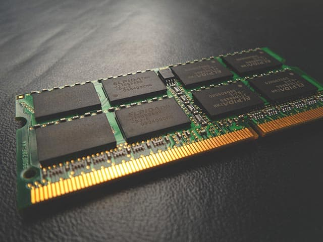 Using virtual memory is faster than just using RAM