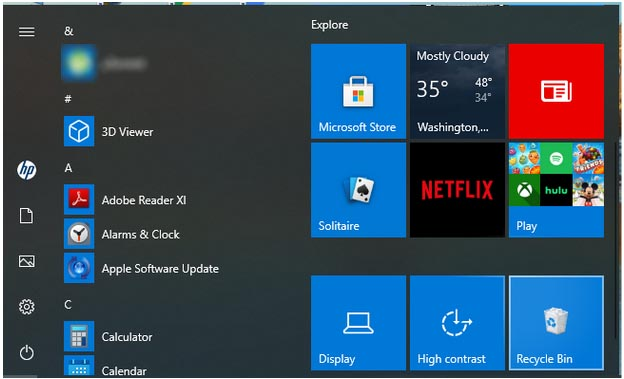 Where is the Recycle Bin in Windows 10