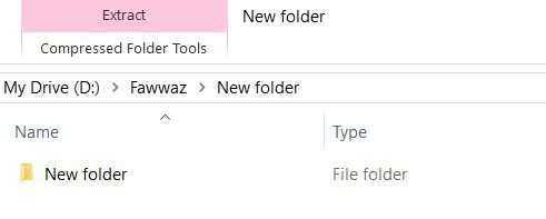 How do I unzip a file without WinZip in Windows 10