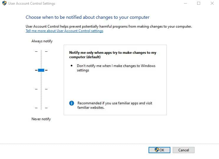 How to always run a program in Administrator mode in Windows 10