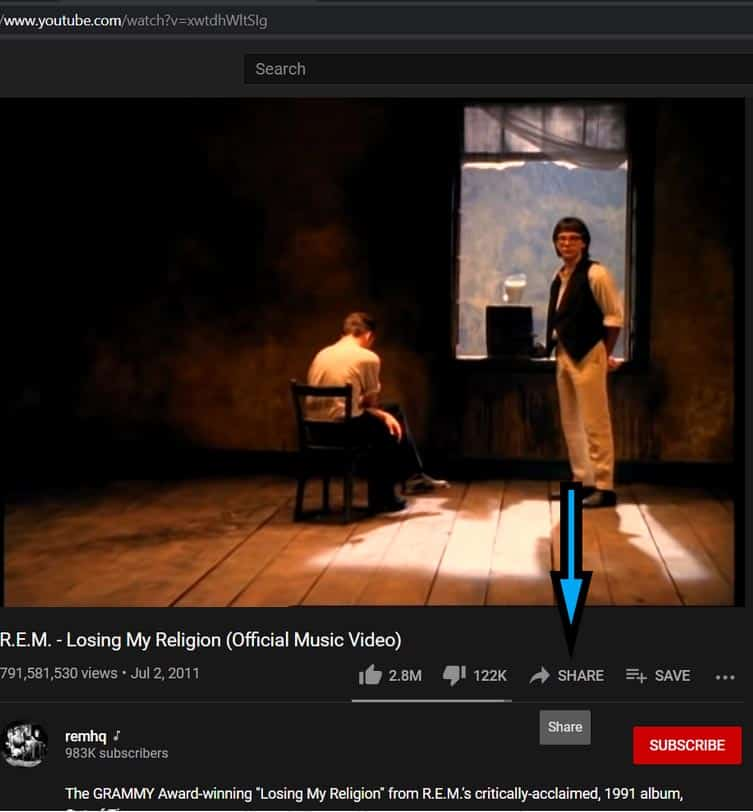 How to timestamp on YouTube