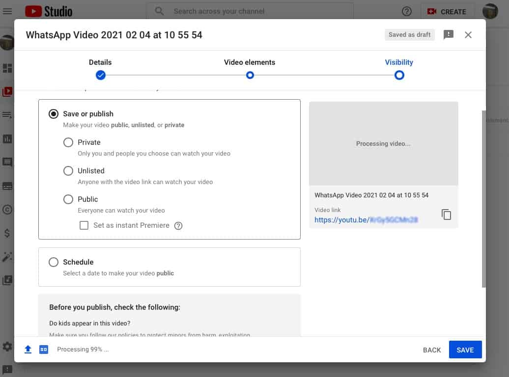 YouTube private vs unlisted videos What's the difference