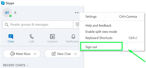 How to close Skype in Windows 10 and stop it from starting automatically