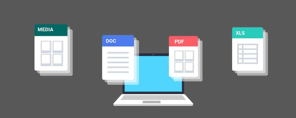 Different files types you can save your google docs