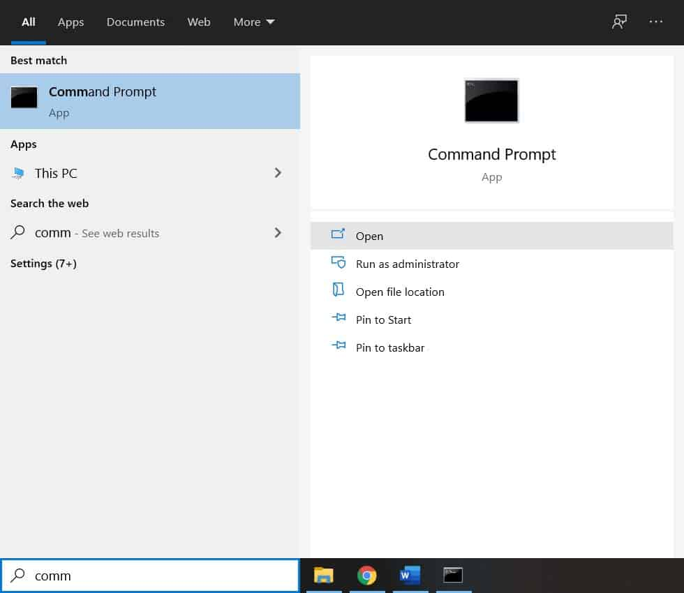 How to change directory in CMD in Windows 10